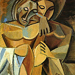 1907 L AmitiВ, Pablo Picasso (1881-1973) Period of creation: 1889-1907