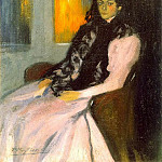 Pablo Picasso (1881-1973) Period of creation: 1889-1907 - 1899 Lola Picasso, soeur de lartiste