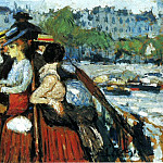 Pablo Picasso (1881-1973) Period of creation: 1889-1907 - 1901 Sur le pont supВrieur