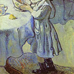 Pablo Picasso (1881-1973) Period of creation: 1889-1907 - 1901 Le gourmet