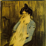 Pablo Picasso (1881-1973) Period of creation: 1889-1907 - 1899 Lola Picasso, sЬur de lartiste