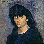 Pablo Picasso (1881-1973) Period of creation: 1889-1907 - 1904 Portrait de Suzanne Bloch