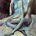 1904 Les deux amies, Pablo Picasso (1881-1973) Period of creation: 1889-1907