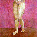 Pablo Picasso (1881-1973) Period of creation: 1889-1907 - 1906 Femme nue debout