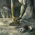 Pablo Picasso (1881-1973) Period of creation: 1889-1907 - 1904 La repasseuse
