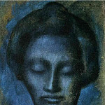 Pablo Picasso (1881-1973) Period of creation: 1889-1907 - 1903 TИte de femme2