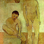 1906 Les adolescents, Pablo Picasso (1881-1973) Period of creation: 1889-1907