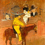 1889 Le picador, Pablo Picasso (1881-1973) Period of creation: 1889-1907