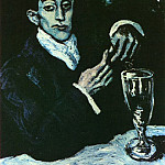 1903 Portrait bleu de Angel F de Soto, Pablo Picasso (1881-1973) Period of creation: 1889-1907