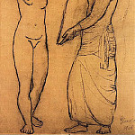 Pablo Picasso (1881-1973) Period of creation: 1889-1907 - 1906 La toilette [Рtude]