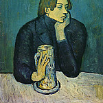 Pablo Picasso (1881-1973) Period of creation: 1889-1907 - 1901 Portrait De Jaime SabartКs (Le Bock)