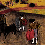 Pablo Picasso (1881-1973) Period of creation: 1889-1907 - 1900 Le picador. JPG
