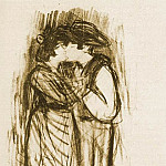 1899 Le baiser, Pablo Picasso (1881-1973) Period of creation: 1889-1907