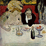 1901 Les soupeurs2, Pablo Picasso (1881-1973) Period of creation: 1889-1907
