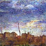 1895 Port de Barcelone, Pablo Picasso (1881-1973) Period of creation: 1889-1907