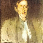 1899 Portrait dAngel F de Soto, Pablo Picasso (1881-1973) Period of creation: 1889-1907