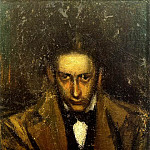 Pablo Picasso (1881-1973) Period of creation: 1889-1907 - 1899 Portrait de Carlos Casagemas