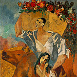 1906 Les paysans2, Pablo Picasso (1881-1973) Period of creation: 1889-1907