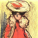 1900 Parisienne, Pablo Picasso (1881-1973) Period of creation: 1889-1907