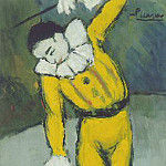 Pablo Picasso (1881-1973) Period of creation: 1889-1907 - 1901 Clown au singe
