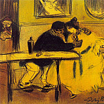 1899 Le divan, Pablo Picasso (1881-1973) Period of creation: 1889-1907