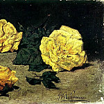 1898 Trois roses, Pablo Picasso (1881-1973) Period of creation: 1889-1907