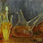 Pablo Picasso (1881-1973) Period of creation: 1889-1907 - 1906 Nature morte aux vases1