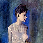 Pablo Picasso (1881-1973) Period of creation: 1889-1907 - 1904 Femme Е la chemise