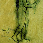 Pablo Picasso (1881-1973) Period of creation: 1889-1907 - 1903 Hommage Е Gauguin