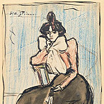 1899 Portrait de Lola, sЬur de lartiste, Pablo Picasso (1881-1973) Period of creation: 1889-1907