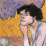 Pablo Picasso (1881-1973) Period of creation: 1889-1907 - 1901 Absinthe (Girl In A Cafe)