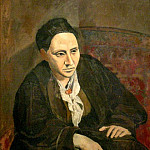 1906 Gertrude Stein, Pablo Picasso (1881-1973) Period of creation: 1889-1907