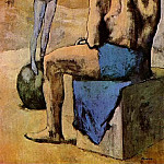 Pablo Picasso (1881-1973) Period of creation: 1889-1907 - 1904 Acrobate au ballon (Fillette au ballon)