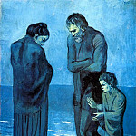 Pablo Picasso (1881-1973) Period of creation: 1889-1907 - 1903 Des pauvres au bord de la mer