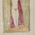 1905 Femme debout, Pablo Picasso (1881-1973) Period of creation: 1889-1907