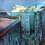 1903 Riera de Sant Joan Е laube, Pablo Picasso (1881-1973) Period of creation: 1889-1907