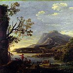Part 6 National Gallery UK - Style of Salvator Rosa - A Coastal Scene
