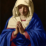 Sassoferrato – The Virgin in Prayer, Part 6 National Gallery UK