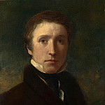 Sir William Boxall – Self Portrait at the Age of about Nineteen, Part 6 National Gallery UK