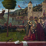 Part 6 National Gallery UK - Vittore Carpaccio - The Departure of Ceyx