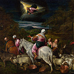 The Departure of Abraham, Jacopo Bassano