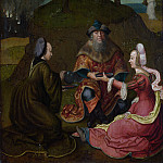 Part 6 National Gallery UK - Lucas van Leyden [Manner of] - Lots Daughters make their Father drink Wine