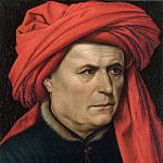 Part 6 National Gallery UK - Robert Campin - A Man