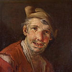 Part 6 National Gallery UK - Style of Giacomo Francesco Cipper - Head of a Man in Red