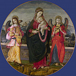 Workshop of Raffaellino del Garbo – The Virgin and Child with Two Angels, Part 6 National Gallery UK
