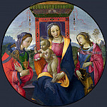 Raffaellino del Garbo – The Virgin and Child with Saints, Part 6 National Gallery UK