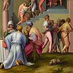 Pontormo – Pharaoh with his Butler and Baker, Part 6 National Gallery UK