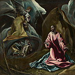 Studio of El Greco – The Agony in the Garden of Gethsemane, Part 6 National Gallery UK