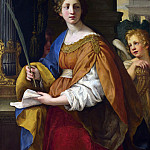 Pietro da Cortona – Saint Cecilia, Part 6 National Gallery UK