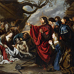 Simon de Vos – The Raising of Lazarus, Part 6 National Gallery UK